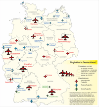 List of airports in Germany Wikipedia