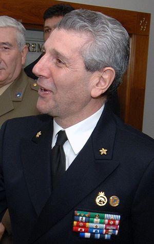 English: Italian Admiral Giampaolo di Paola, c...