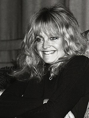 Goldie Hawn in Sweden
