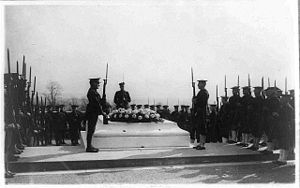 Military funerals at Arlington National Cemete...