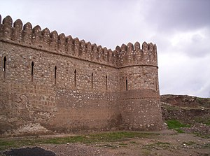 English: Chad Hill, Ancient citadel in Kirkuk,...