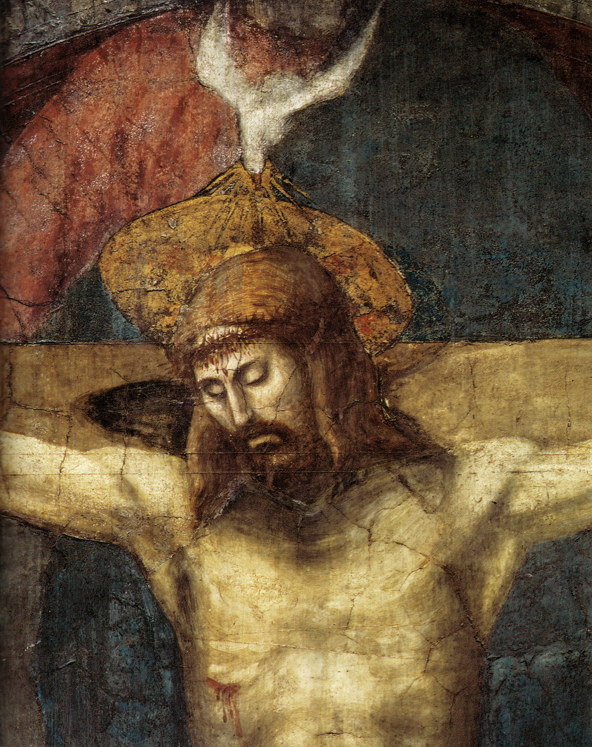 Masaccio Holy Trinity 4