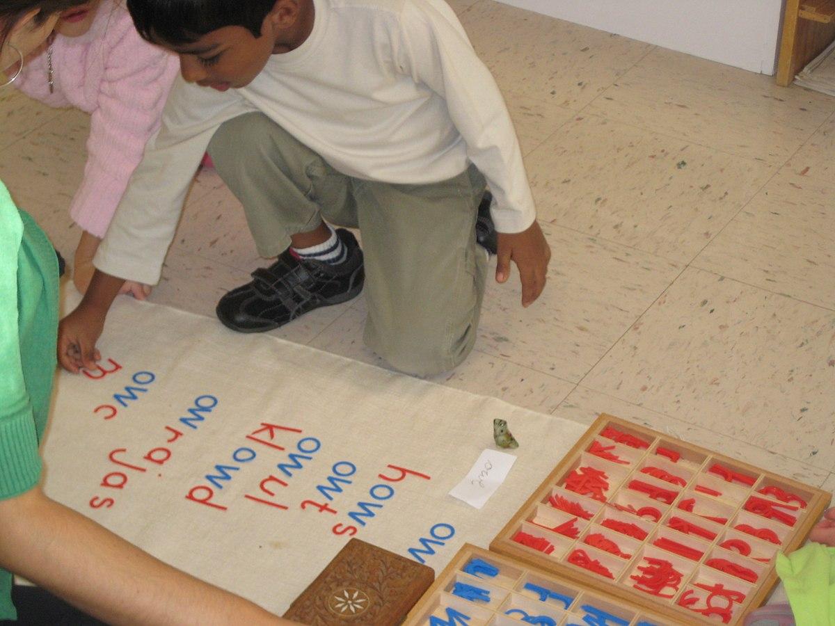hight resolution of Montessori education - Wikipedia