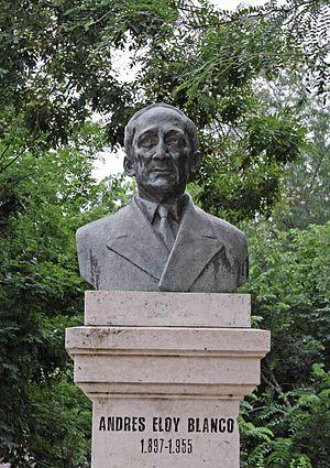 Español: Monumento al venezolano Andrés Eloy B...