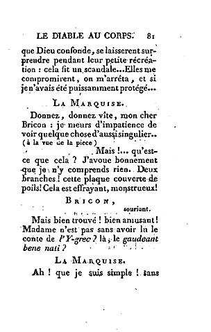 Avoir Le Diable Au Corps : avoir, diable, corps, File:Nerciat, Diable, Corps, 1803,, P81.jpg, Wikimedia, Commons