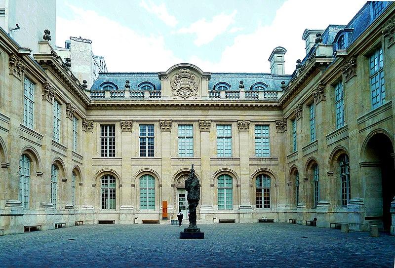 Fichier:P1020669 Paris III Hôtel de Saint-Aignan Musée d'art et d'histoire du judaisme rwk.JPG