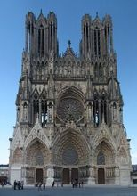 Резултат слика за катедрала ремс