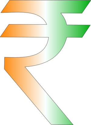 English: New Symbol for Indian Rupee
