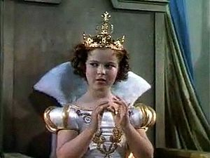 Screenshot of Shirley Temple from the film The...