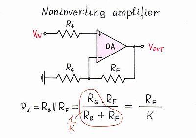 circuit diagram of non inverting amplifier vw t4 alternator wiring idea simple op amp summer design wikibooks open books for edit