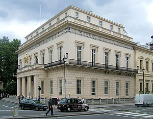 English: The Athenæum Club, Pall Mall, London ...