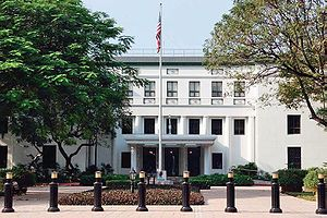 Chancery of the American Embassy in Manila