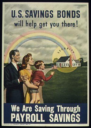"""""""WE ARE SAVING THROUGH PAYROLL SAVINGS&qu..."""