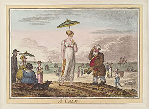 A calm, by James Gillray (died 1815), publishe...