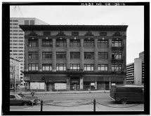 File Front West Elevation. - Hotel Lenox 1100-1116