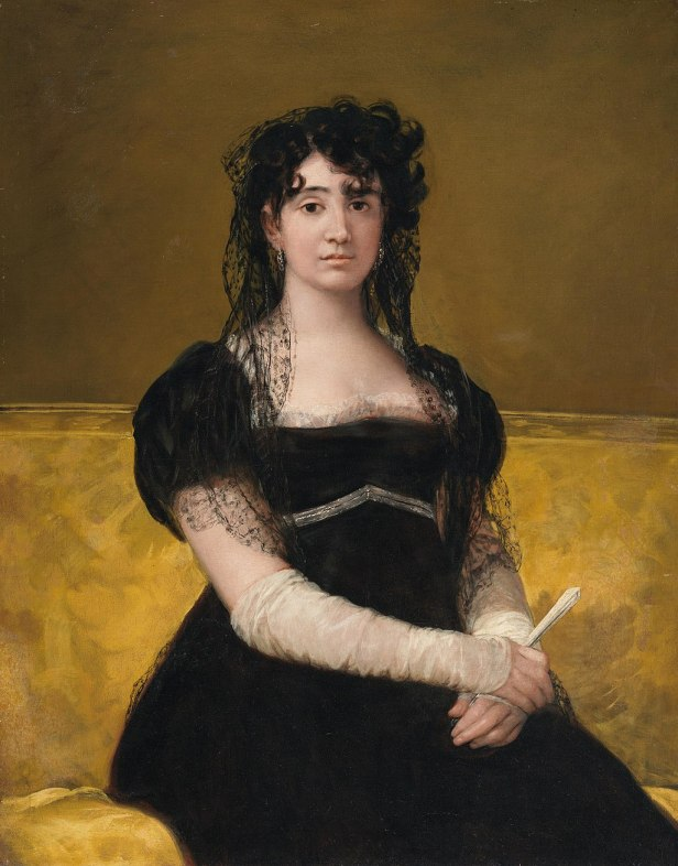"""Portrait of Doña Antonia Zárate"" by Francisco Goya"