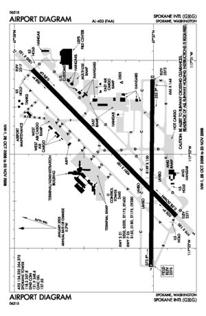 FAA airport diagram for GEG (Spokane Internati...