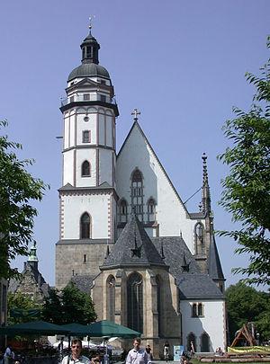 de: Leipziger Thomaskirche. en: St. Thomas Chu...