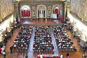 Italiano: Marco Ferrini in un evento a Palazzo...