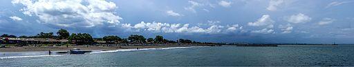 Panorama of Teluk Penyu Beach, Cilacap, 2015-03-21 01