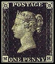Le célèbre et très rare Penny Black