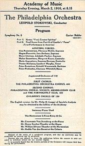 symphony no 8 mahler
