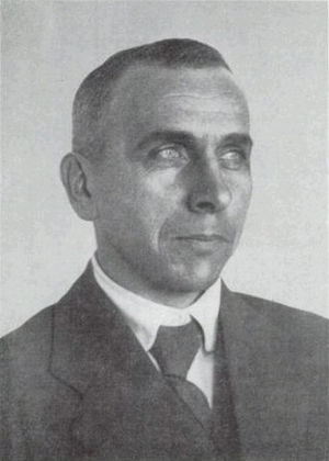 Photograph of Alfred Wegener, the scientist