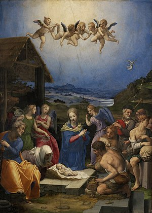 Adoration of the Shepherds Luke 2:16-20
