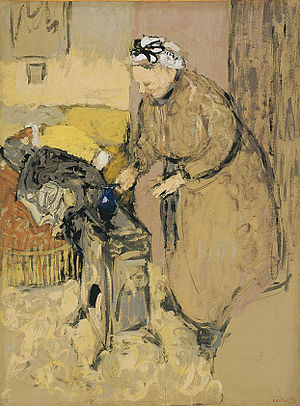 Madame Vuillard Leaning Over the Paraffin Stove