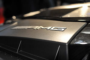 English: AMG carbon fiber engine at the Geneva...
