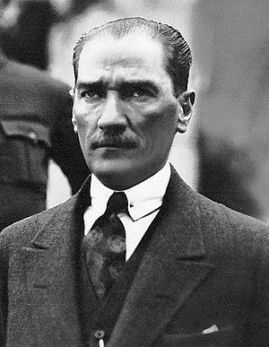 Mustafa Kemal Atatürk in 1923.