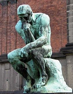 El Pensador, de Auguste Rodin.