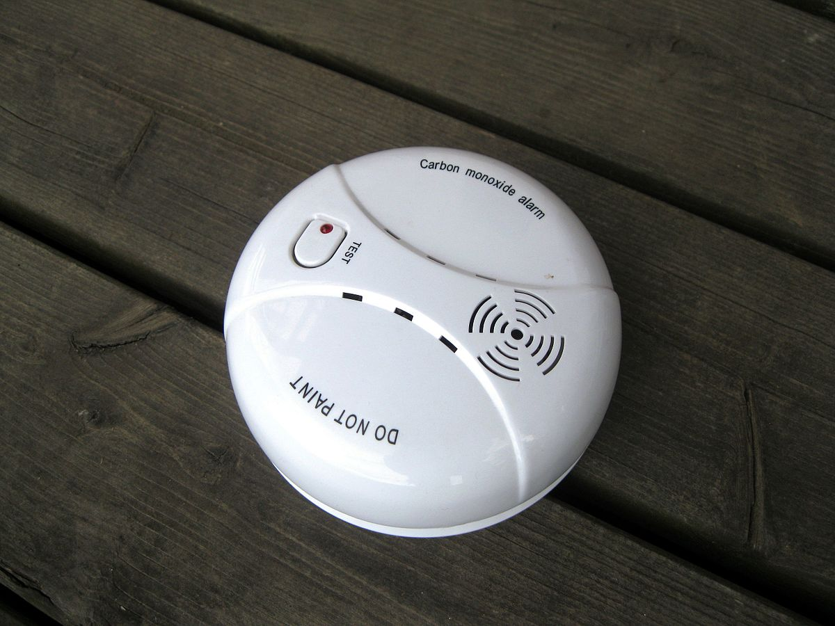 Carbon Monoxide Detector  Wikipedia