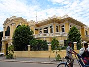 Example of French colonial architecture in Phnom Penh
