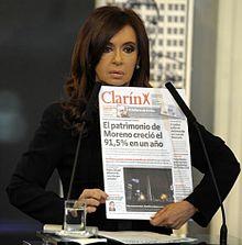 Cristina Fernndez de Kirchner  Wikipedia