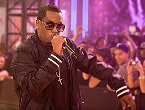 English: Diddy performing at the eTalk Festiva...