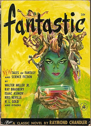 English: Cover of Summer 1952 issue of Fantast...