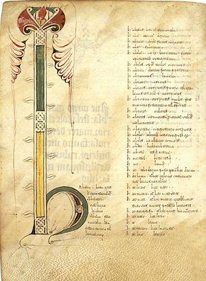 Glosario latino (964)
