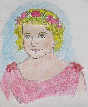 Goldilocks Gardner, the third daughter of Mast...