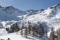 Serre-Chevalier 1500, Yret and Cibouit summits