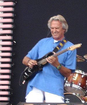 John McLaughlin performing at the Crossroads G...