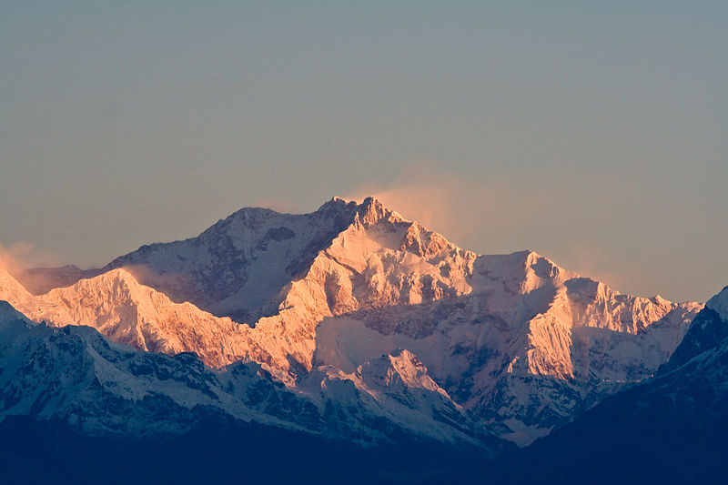 Kanchenjunga India - Top Mountains in India