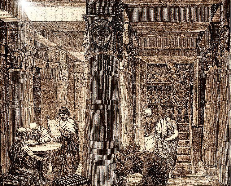 Aleksandrijska biblioteka, (foto: wikimedia)