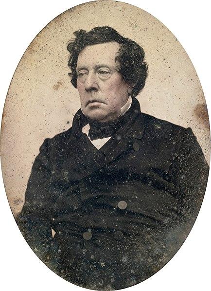 1855-56年頃のダゲレオタイプの写真