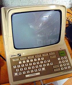 Minitelterminal från 1982