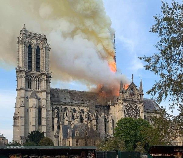 Notre-dame De Paris Fire - Wikipedia