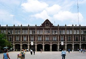 Morelos' State Government's Palace in Cuernava...