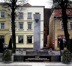 "Monument of ""Gratitude"" in Gryfice (..."