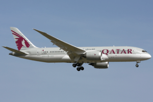 Qatar Airways Boeing 787-8.