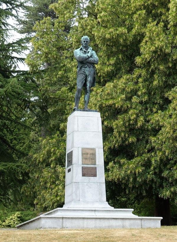 Robert Burns Memorial Stanley Park - Wikipedia